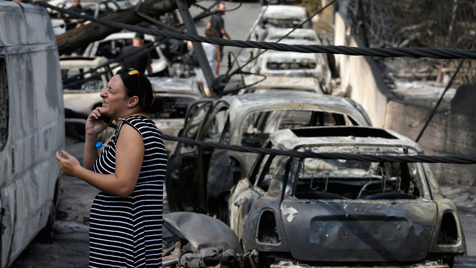 Rescue service cuts worsened wildfire tragedy, say Greek Communists