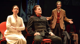 'Mayakovsky and Stalin' stride the stage in an L.A. world premiere