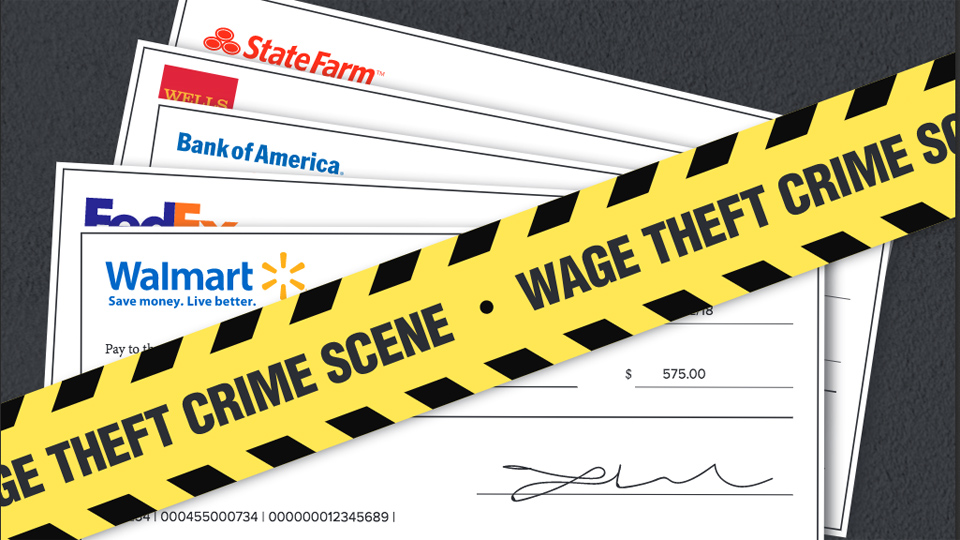Corporate wage theft is on the rise