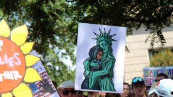 '¡Vergüenza! ¡Vergüenza! ¡Vergüenza' a la administración Trump
