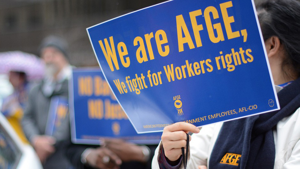 Federal worker unions head for court showdown with Trump