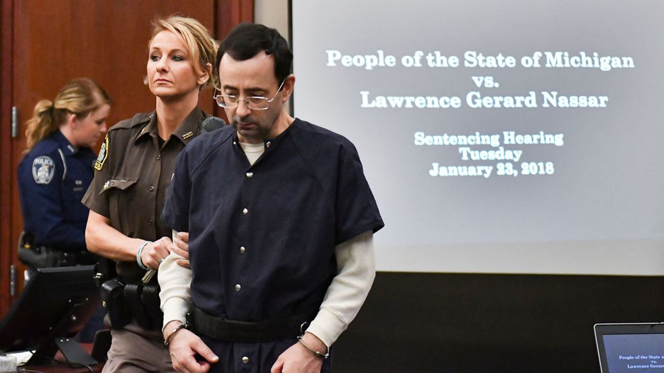 Nassar assaulted in prison, asks court for resentencing hearing
