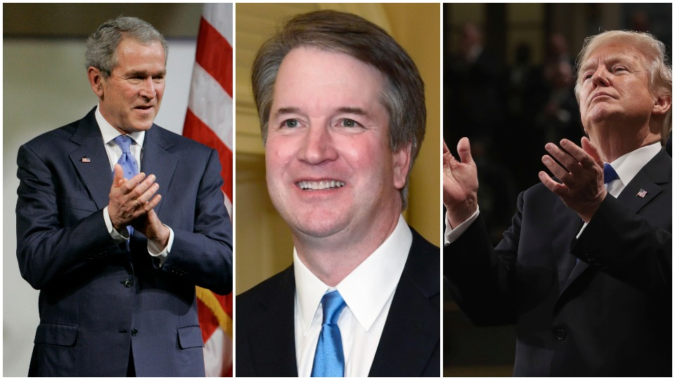 Supreme Court nominee Brett Kavanaugh—a GOP political hack