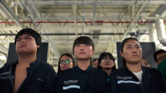 'Equal pay for equal work': Temp workers struggle in China's auto sector