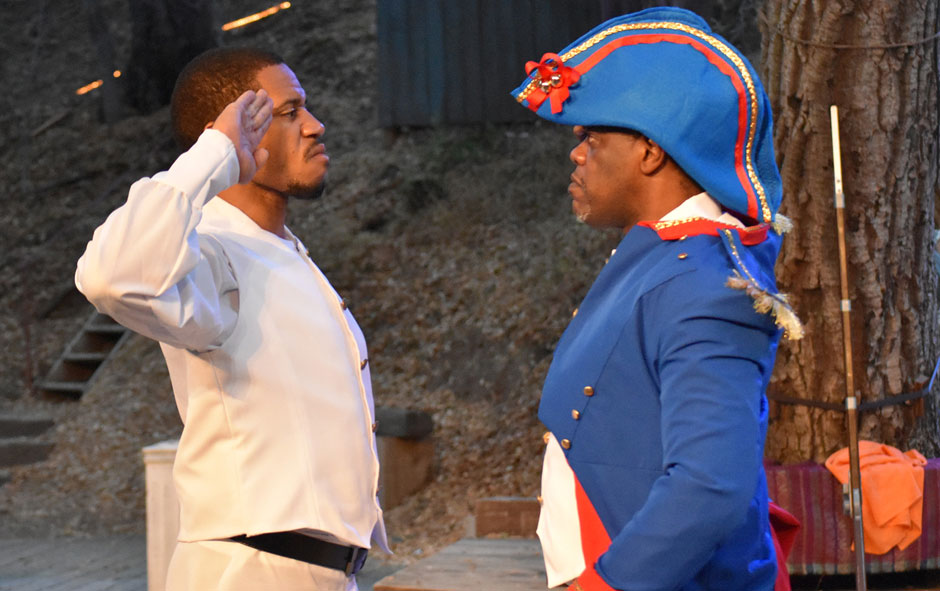 The 1802 Haitian Revolution on stage: Liberty, equality and fraternity for all