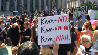 Rallies oppose Kavanaugh, Trump's High Court pick
