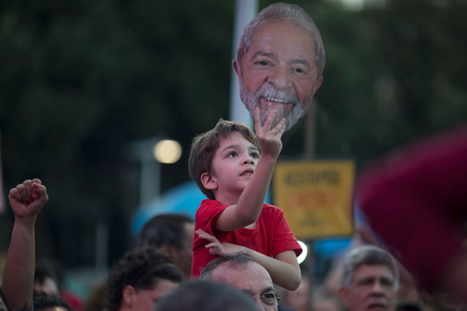 Brazil's ex-President Lula in jail; Workers Party nominates him anyway
