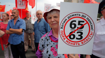 Russian Communists move to block Putin's plan to raise retirement age