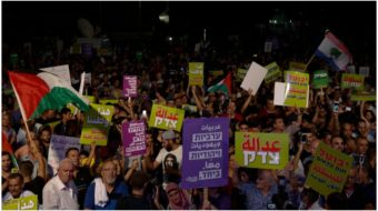 Huge protests against Israel's racist 'apartheid' law rock Tel Aviv