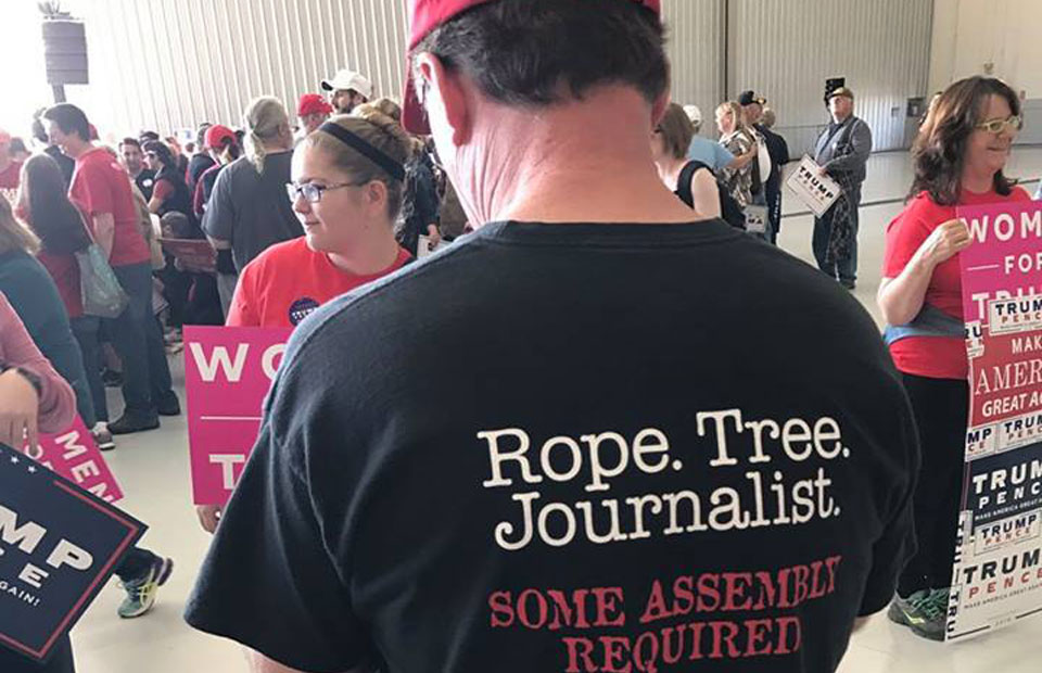 Citing Trump threats, News Guild demands safety measures for journalists