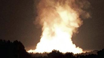 TransCanada pipeline explodes in West Virginia
