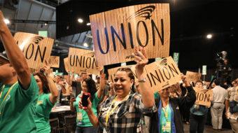 Aprobación de las uniones laborales la más alta en 15 años
