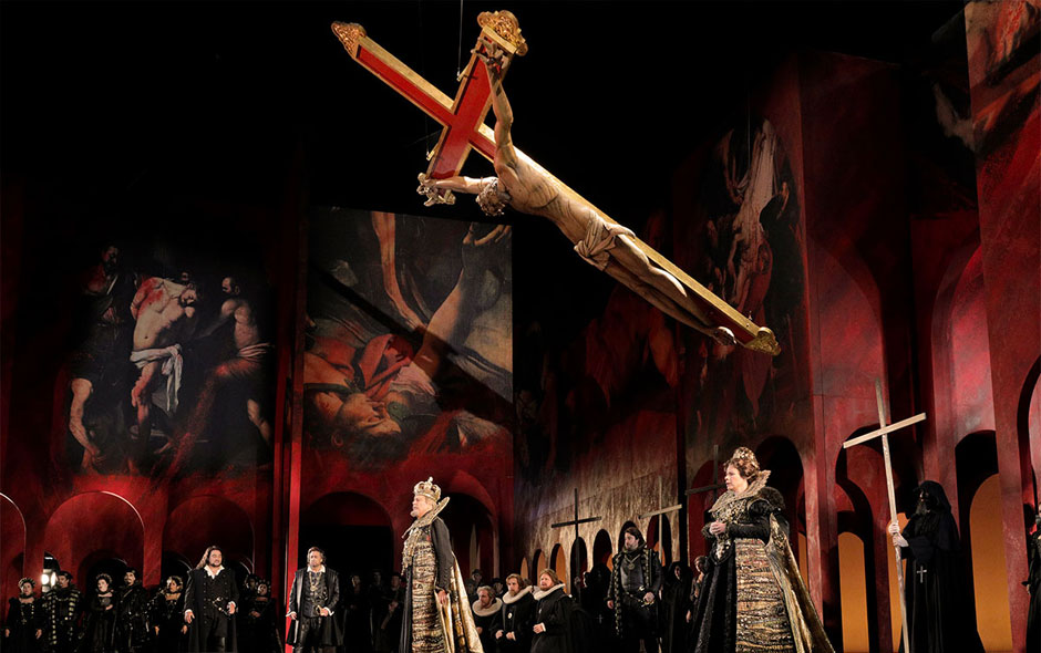 Intrigue in the palace: Verdi's 'Don Carlo' and the Don in D.C.