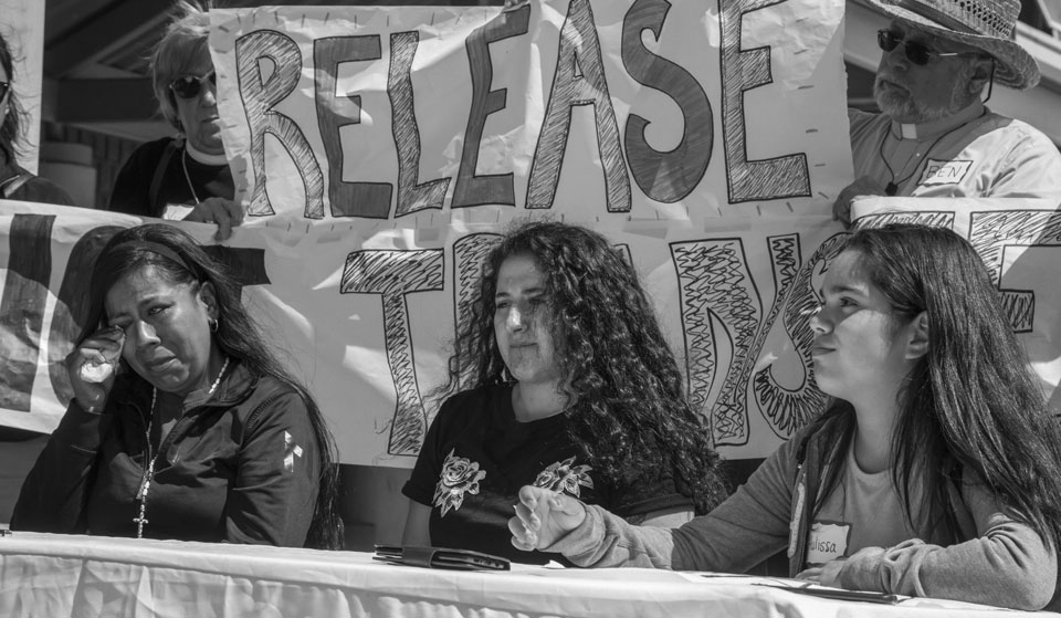 Families demand that ICE release their loved ones