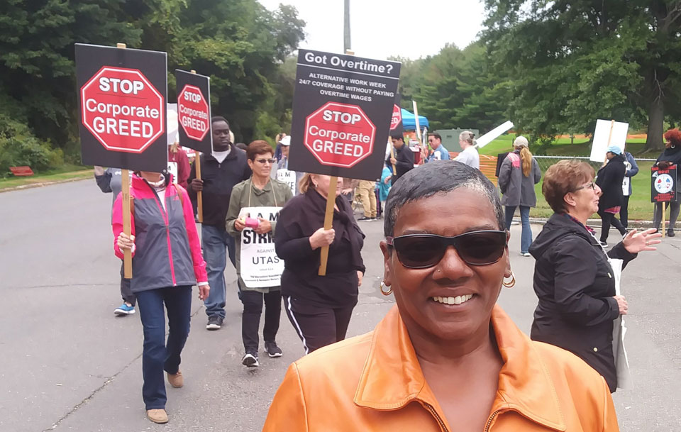 Healthcare, wages at stake in Machinists strike at UTC Cheshire Aerospace
