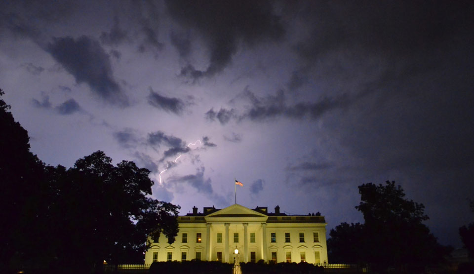 Storm gathering around White House intensifying daily