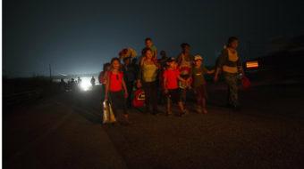 Caravana de migrantes descansa pero seguirá adelante