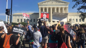 Despite sham FBI report and protests, Senate rushes to confirm Kavanaugh