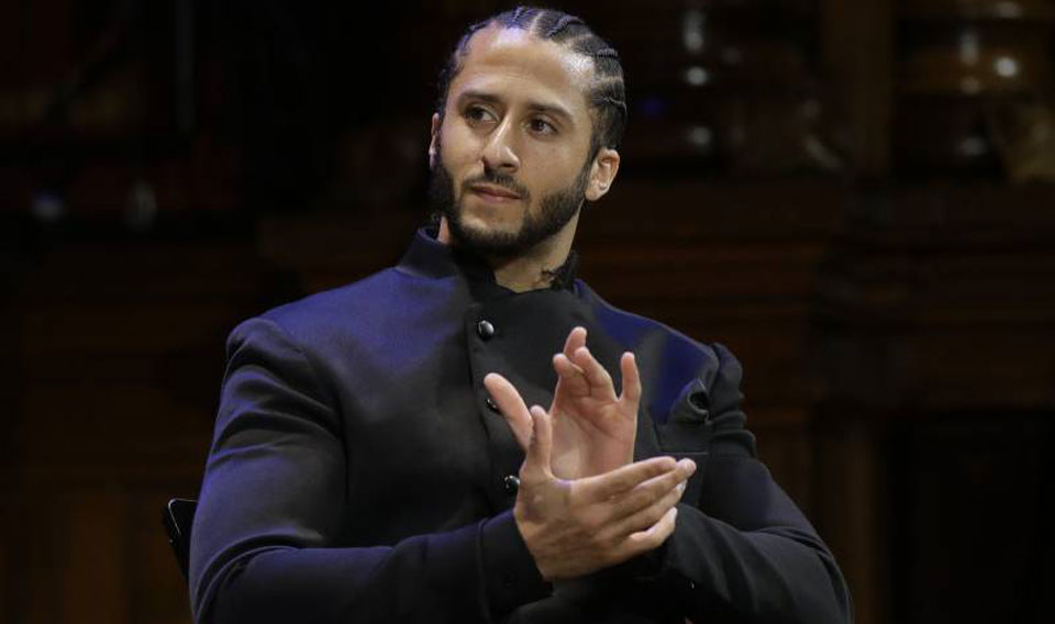 Kaepernick honored with medal named after U.S. Communist W.E.B. Du Bois