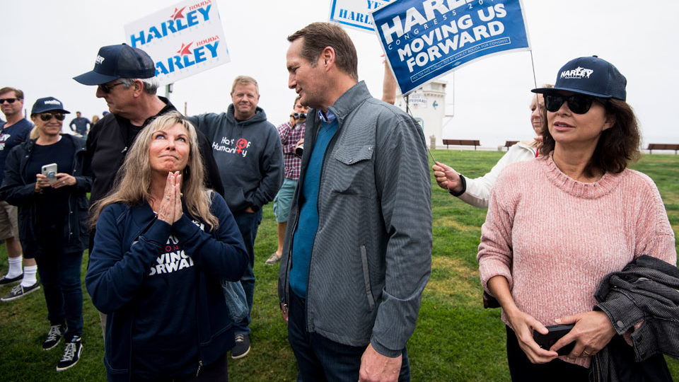 Praying for a Blue Wave: Harley Rouda works to flip Orange County