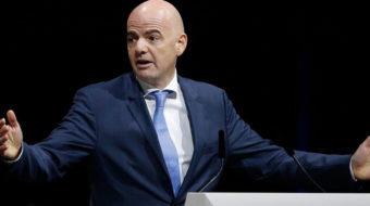 Infantino says women justified protesting cash inequalities