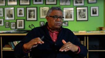 Communist leader Jarvis Tyner visits Ohio, encourages election turnout