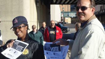 AFL-CIO to drop 1.3 million leaflets in key battleground races