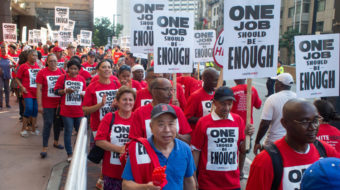 Evil Empire returns: Yanks spit in workers' faces by crossing picket line