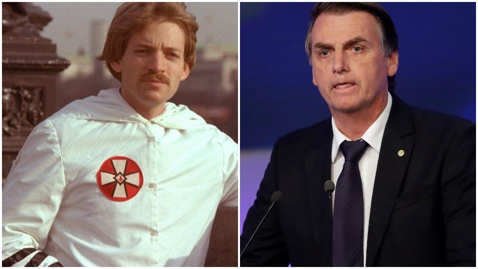 KKK leader David Duke endorses Brazil's Bolsonaro