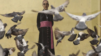 Archbishop Oscar Romero, killed by right-wing assassin in 1980, becomes saint
