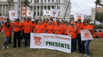 Pensión privilegio para algunos, austeridad para los trabajadores