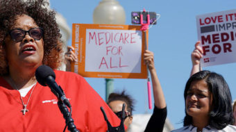 Nurses union, allies unveil national push for Medicare for All