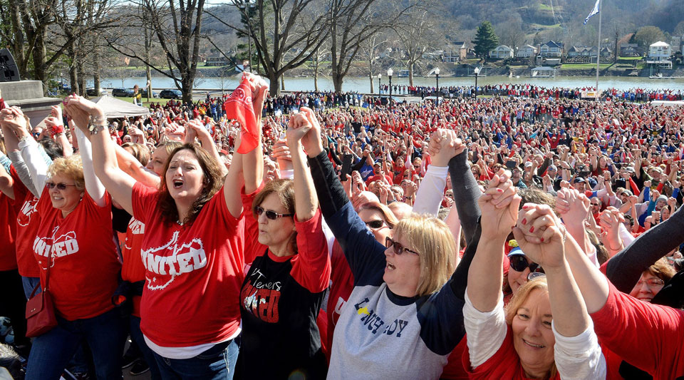 West Virginia teacher tells how her strike sparked a national uprising