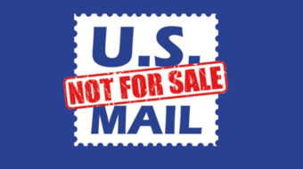 """The U.S. Mail is not for sale,"" postal workers say"