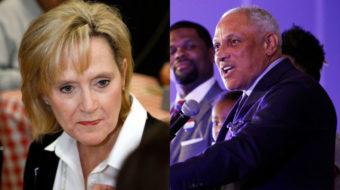 Racist Mississippi Senator hopes Trump can help her win tomorrow