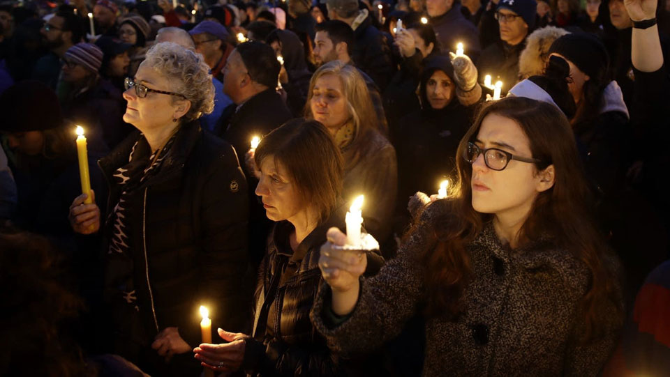 The quiet Pittsburgh morning that was shattered by hate