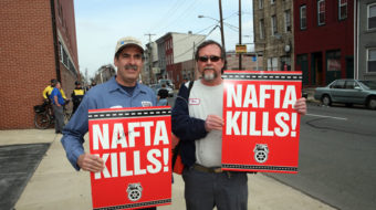 "Teamsters' Dolan says 'New NAFTA' still has ""holes"""