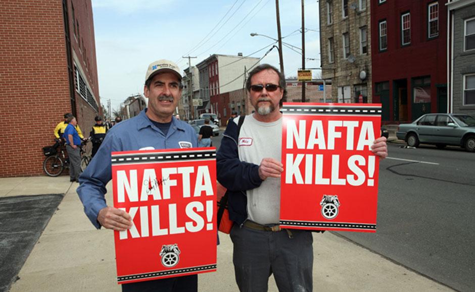 "Teamsters' Dolan says 'New NAFTA' still has ""holes"""