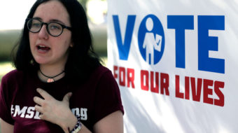 Parkland school shooting survivors cast their first votes