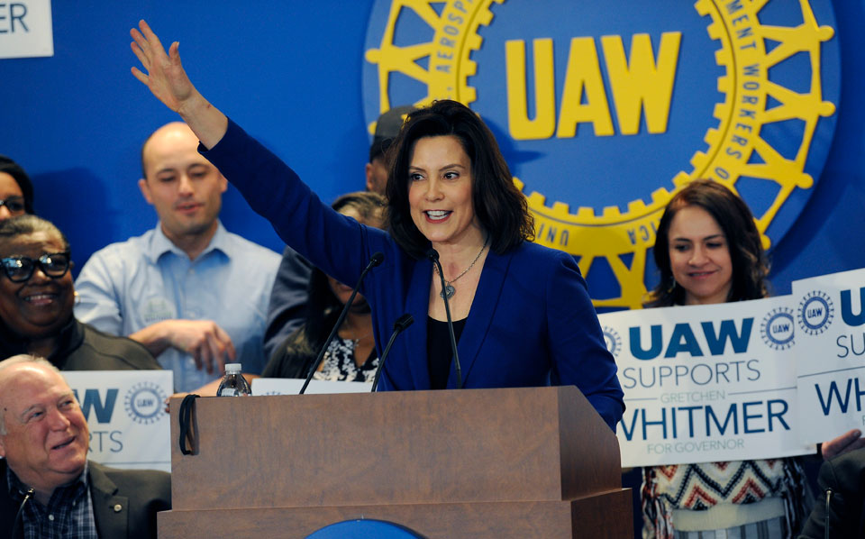 UAW pushes economics to get voters to the polls in Michigan