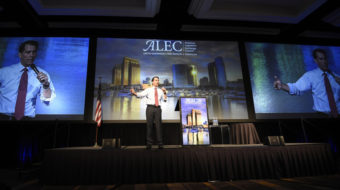 Secretive right-wing group ALEC expands drive to destroy unions