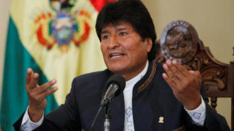 Bolivian President Evo Morales seeks fourth term, courts controversy