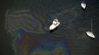 60,000 liters of oil spills from pipeline into Brazilian bay