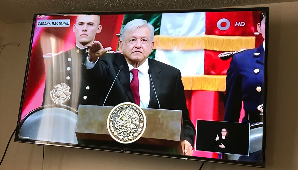 President Andrés Manuel López Obrador promises new hope for Mexico's future