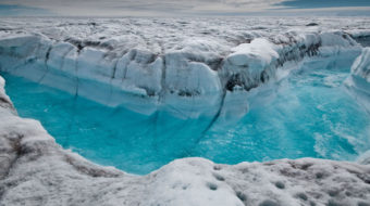 "Greenland melting is ""off the charts"""