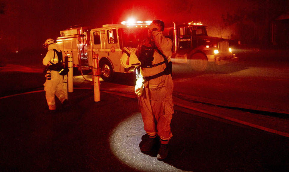 California firefighters dodge death, face harrowing conditions on the job