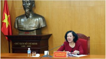 U.S. and Vietnamese Communist Parties meet in Washington