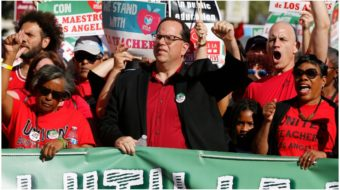 "Saying ""Enough is enough!"" Los Angeles teachers set strike date"