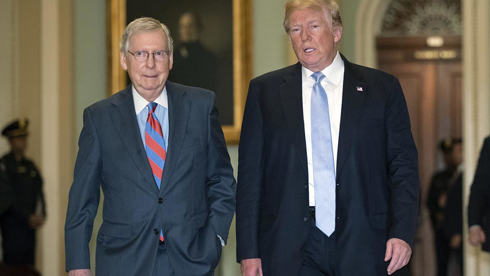 McConnell's medieval moves to continue the shutdown