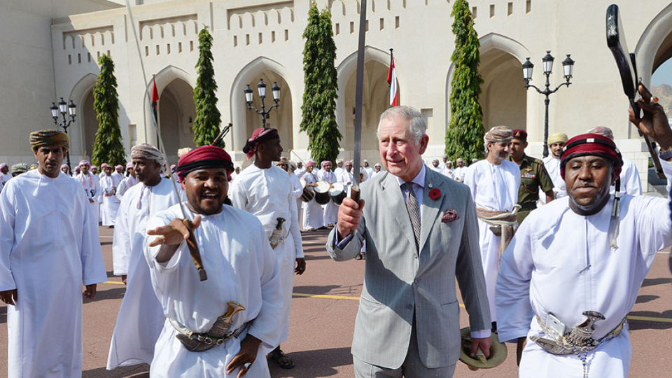 What's British imperialism up to in Oman?